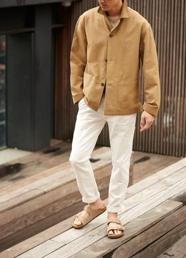 З чим носити і як поєднувати сандалі чоловікам: 10 модних ідей у фото - фото 414836