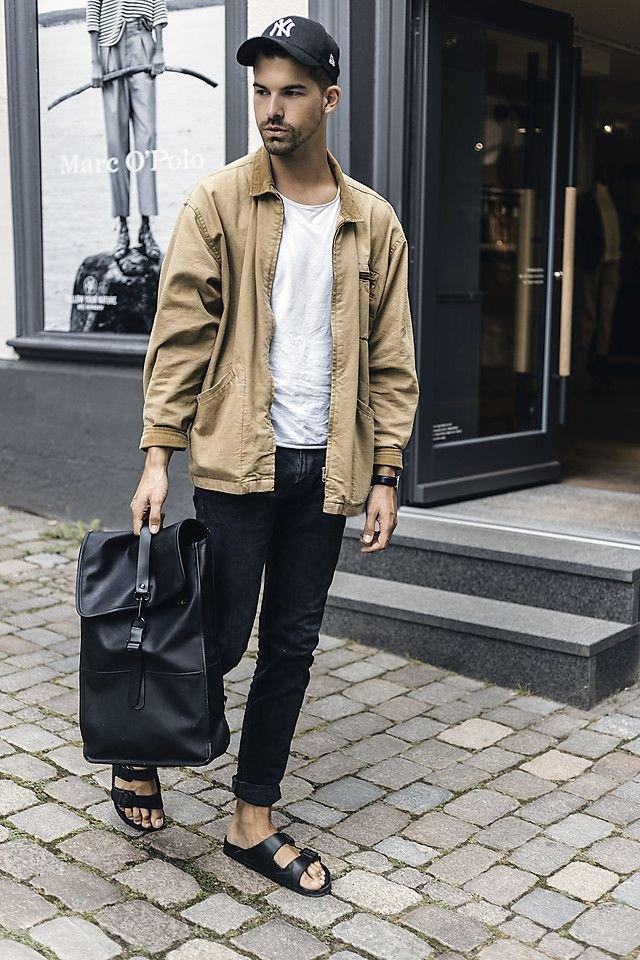 З чим носити і як поєднувати сандалі чоловікам: 10 модних ідей у фото - фото 414837