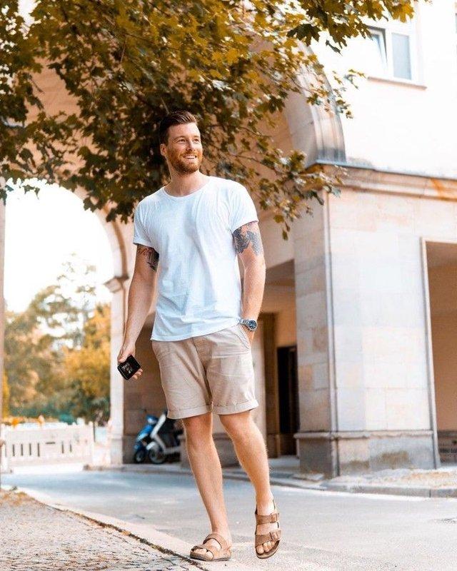З чим носити і як поєднувати сандалі чоловікам: 10 модних ідей у фото - фото 414838