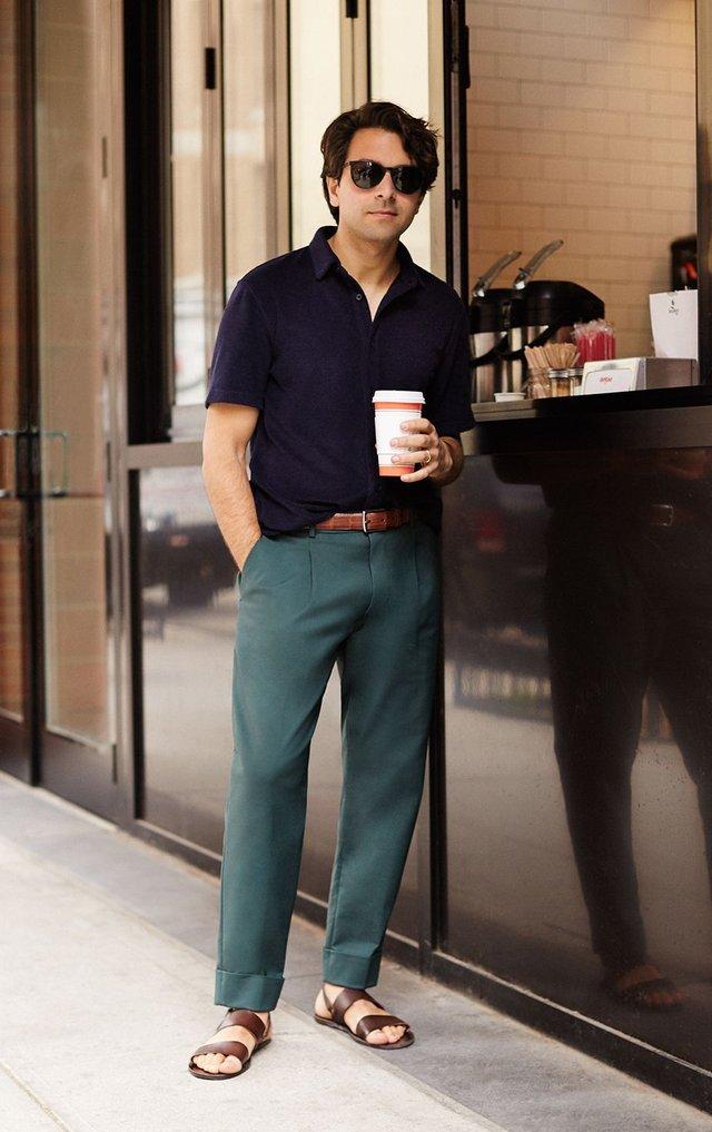 З чим носити і як поєднувати сандалі чоловікам: 10 модних ідей у фото - фото 414841