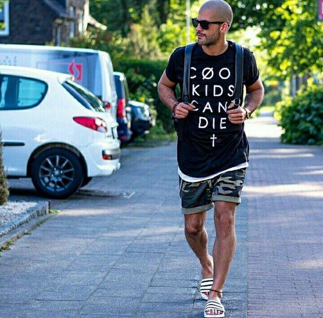 З чим носити і як поєднувати сандалі чоловікам: 10 модних ідей у фото - фото 414844