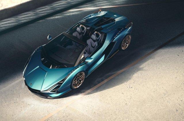 Перший серійний гібрид Lamborghini позбувся даху та став ексклюзивним - фото 414869