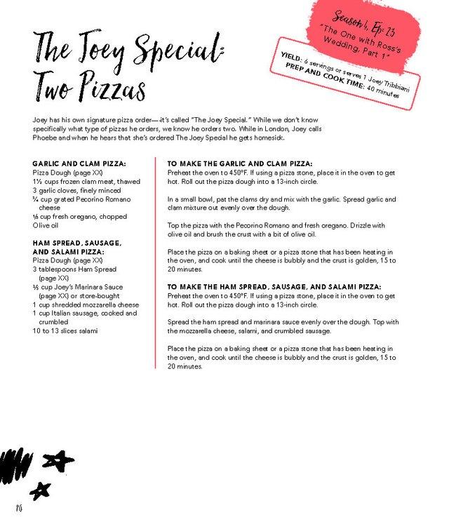 Сендвіч Росса та піца Джої: з'явились рецепти улюблених страв із серіалу ДРУЗІ - фото 414912