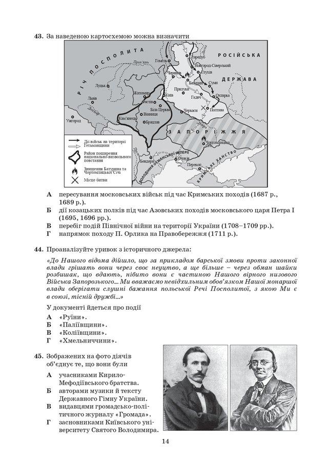 ЗНО з історії України 2020: опубліковані завдання цьогорічного тесту - фото 414928