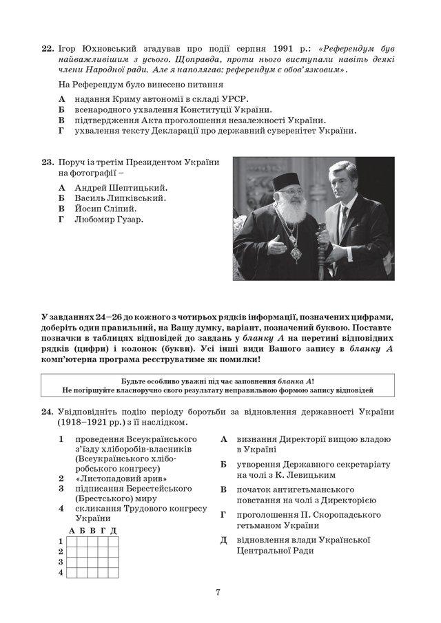 ЗНО з історії України 2020: опубліковані завдання цьогорічного тесту - фото 414933