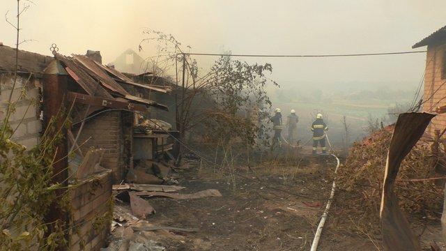 Рятувальники показали наслідки пожеж на Луганщині - фото 415078