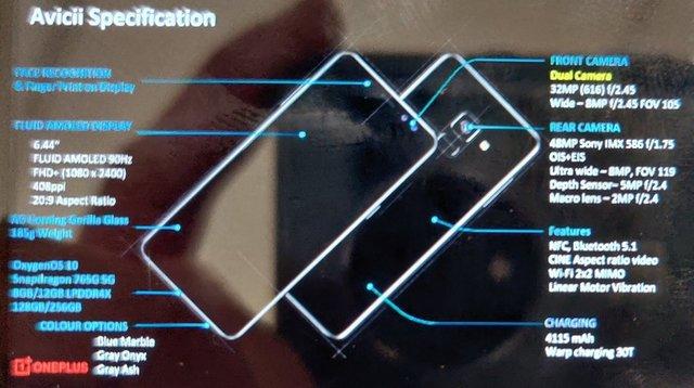 Тепер відомо все: технічні характеристики OnePlus Nord розсекретили до презентації - фото 415312