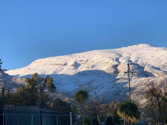 Південну Африку засипало снігом: вражаючі кадри - фото 416074