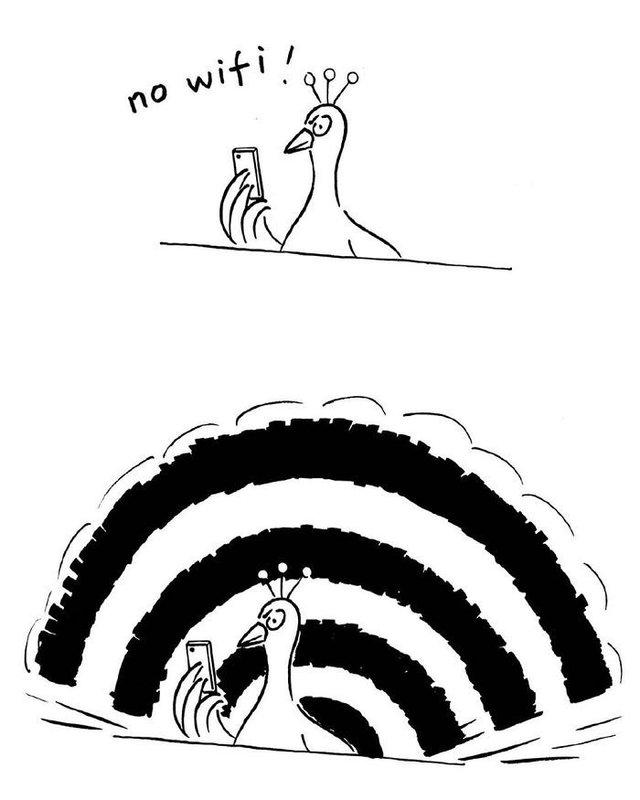 Художник з Китаю створює мінімалістичні комікси з несподіваною кінцівкою - фото 416118