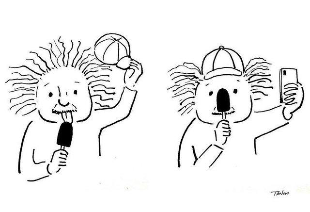 Художник з Китаю створює мінімалістичні комікси з несподіваною кінцівкою - фото 416121