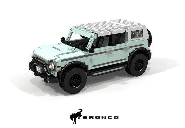 Позашляховик Ford Bronco 2021 зібрали з Lego - фото 416956