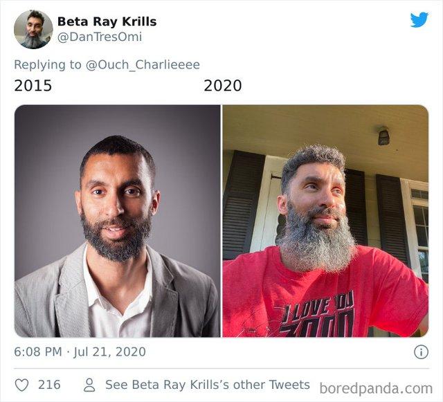 2015 vs 2020: люди показують вражаючі фотоколажі, як вони змінились за цей час - фото 417784