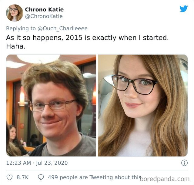 2015 vs 2020: люди показують вражаючі фотоколажі, як вони змінились за цей час - фото 417791