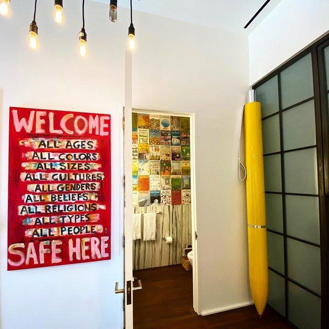 У мережі висміяли дизайн квартири Джіджі Хадід - фото 418084