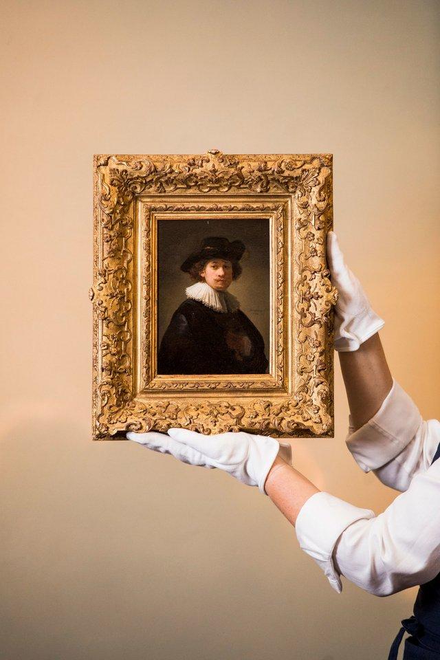 Автопортрет Рембрандта продали за рекордну ціну - фото 418181