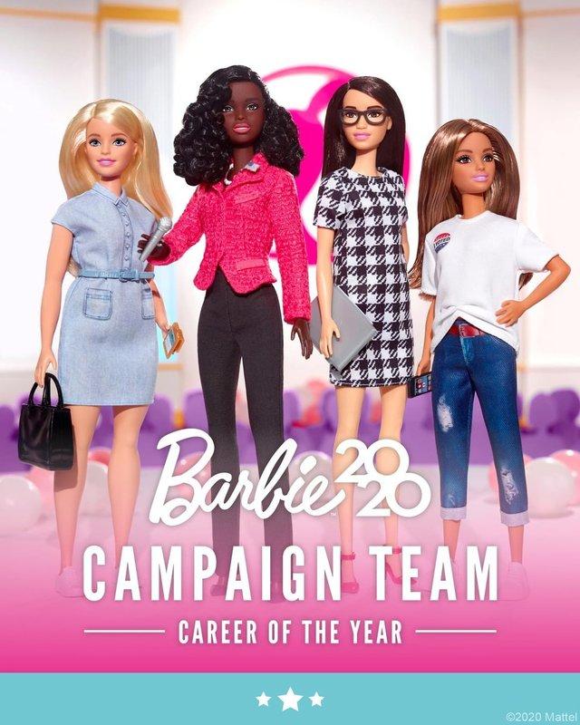 Барбі з амбіціями президента: Mattel випустить політичну колекцію ляльок - фото 418197