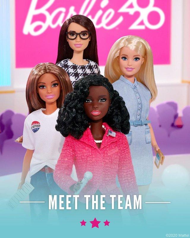 Барбі з амбіціями президента: Mattel випустить політичну колекцію ляльок - фото 418199