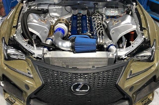 Lexus RC F перетворили на 1200-сильний дрифт-кар: ефектне відео - фото 418371