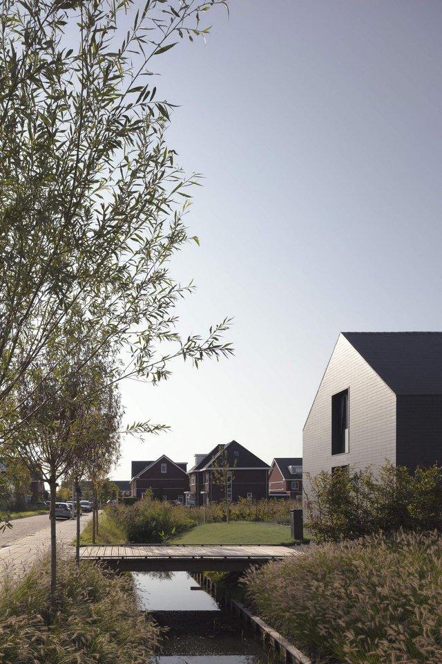 Як виглядає сучасна сімейна вілла у Нідерландах: фото - фото 418789