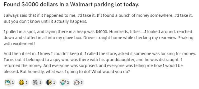 Чоловік знайшов на парковці 4 тисячі доларів: його реакція вразила мережу - фото 418865
