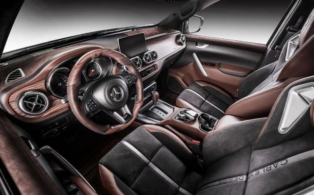Mercedes-Benz X-Class виконали у стилі розкішної яхти: фото - фото 418885