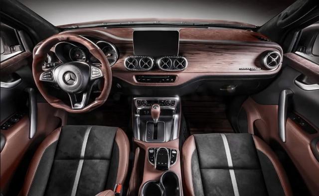 Mercedes-Benz X-Class виконали у стилі розкішної яхти: фото - фото 418887