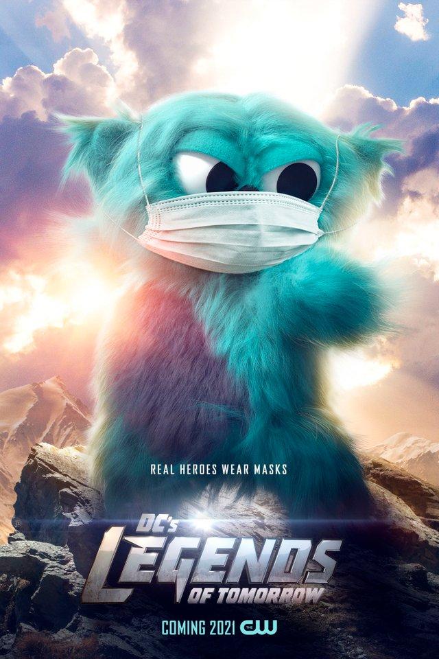 Герої носять маски: канал CW випустив постери, які нагадують про захист під час COVID-19 - фото 419183