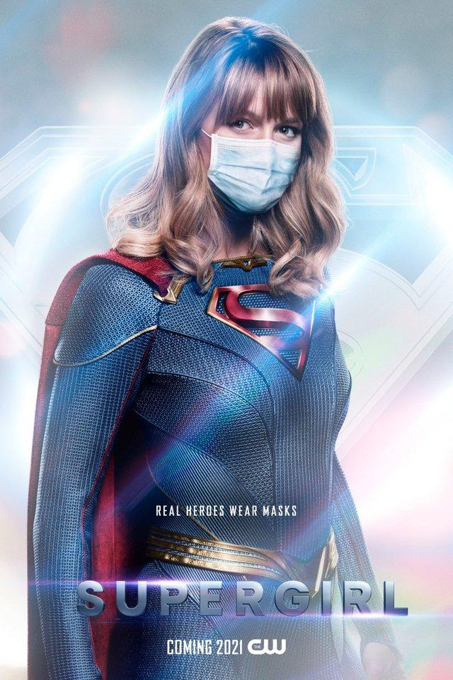 Герої носять маски: канал CW випустив постери, які нагадують про захист під час COVID-19 - фото 419186