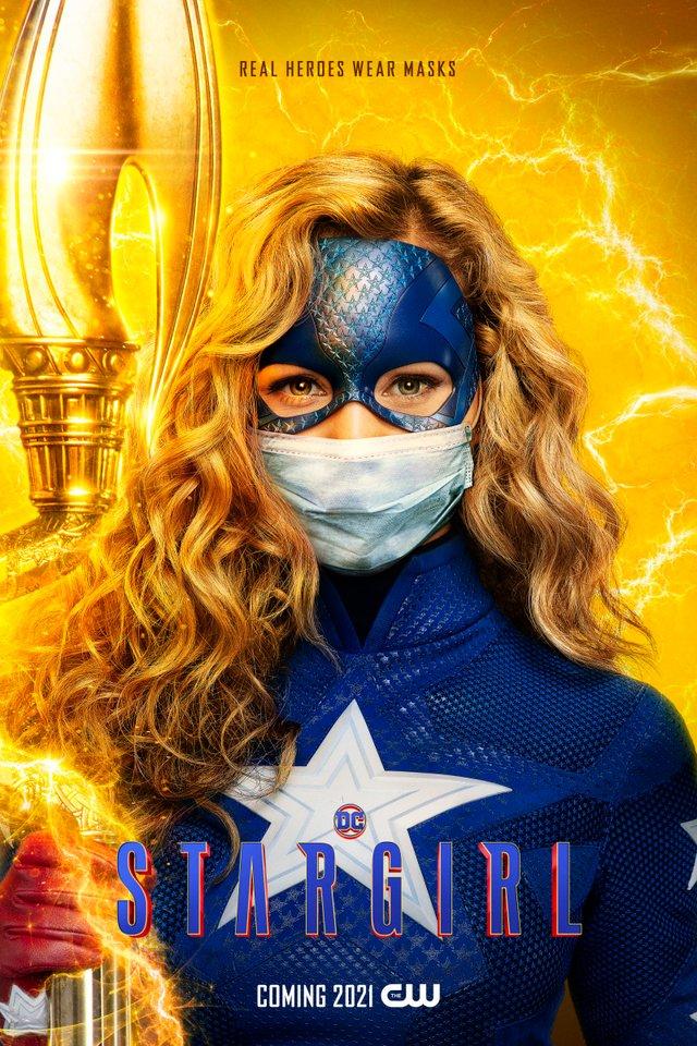 Герої носять маски: канал CW випустив постери, які нагадують про захист під час COVID-19 - фото 419187