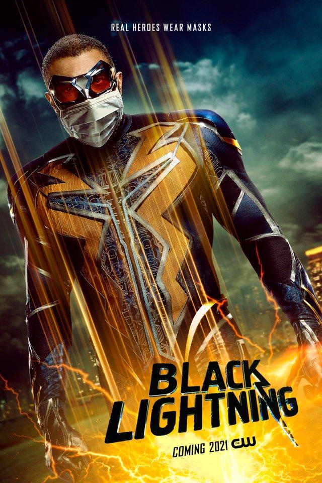 Герої носять маски: канал CW випустив постери, які нагадують про захист під час COVID-19 - фото 419188