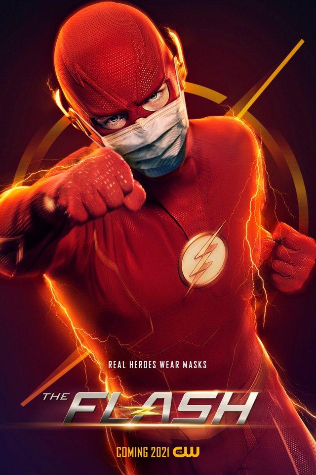 Герої носять маски: канал CW випустив постери, які нагадують про захист під час COVID-19 - фото 419189