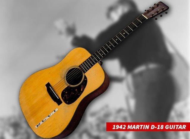 Гітару Елвіса Преслі продали за рекордну суму - фото 419291