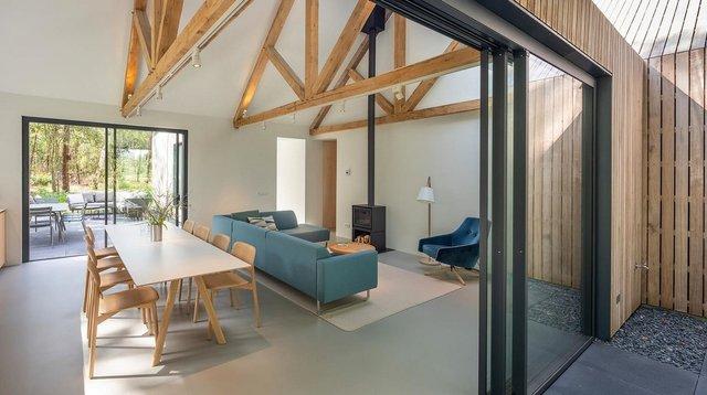 Архітектори звели ідеальний дім для відпочинку в Нідерландах: фото - фото 419334