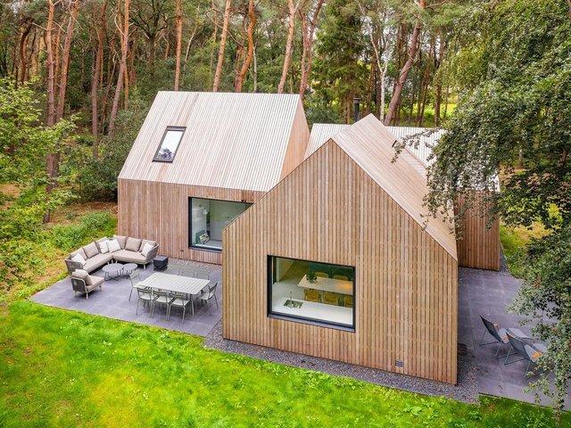 Архітектори звели ідеальний дім для відпочинку в Нідерландах: фото - фото 419341