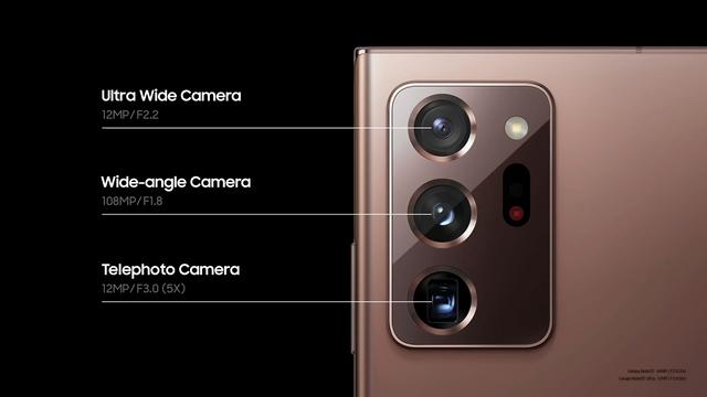 Galaxy Note20 Ultra отримав перископну камеру  - фото 419494