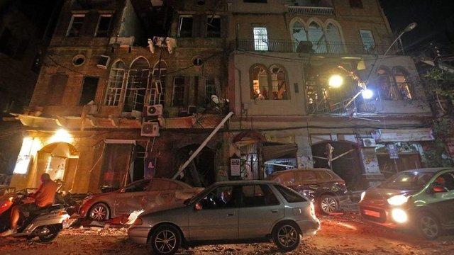 У мережі показали наслідки вибуху в порту Бейрута - фото 419514
