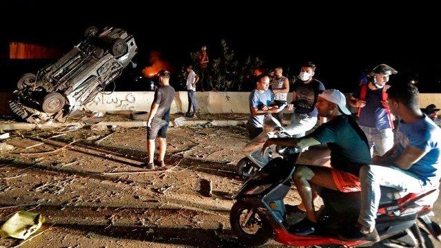 У мережі показали наслідки вибуху в порту Бейрута - фото 419515