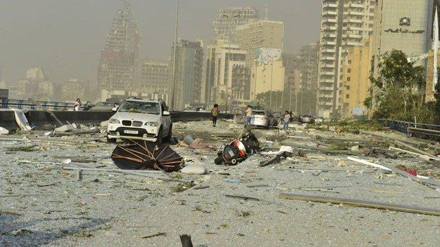 У мережі показали наслідки вибуху в порту Бейрута - фото 419516