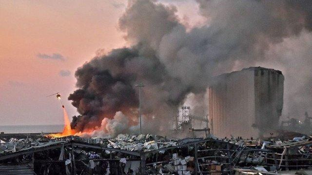 У мережі показали наслідки вибуху в порту Бейрута - фото 419517