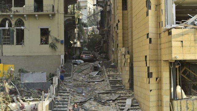 У мережі показали наслідки вибуху в порту Бейрута - фото 419518