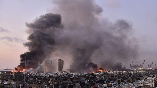 У мережі показали наслідки вибуху в порту Бейрута - фото 419519