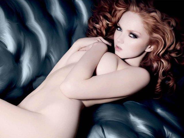 Моделі світу: як змінилася блакитноока красуня Лілі Коул, фото 18+ - фото 419572