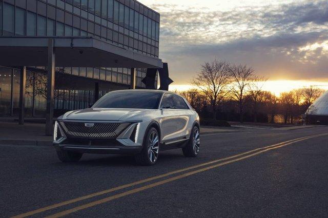 Cadillac представила свій перший електричний позашляховик - фото 419909