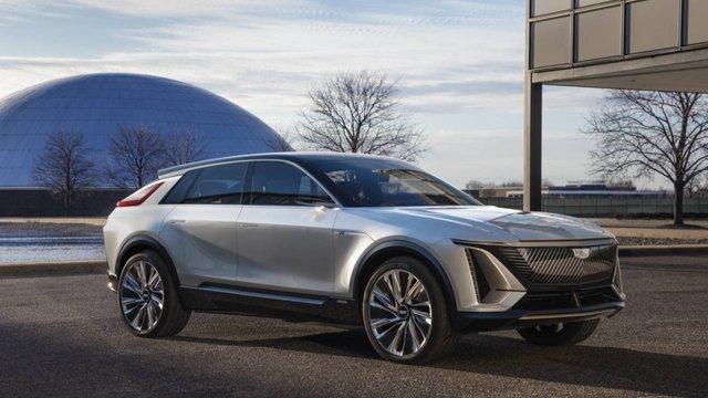 Cadillac представила свій перший електричний позашляховик - фото 419911
