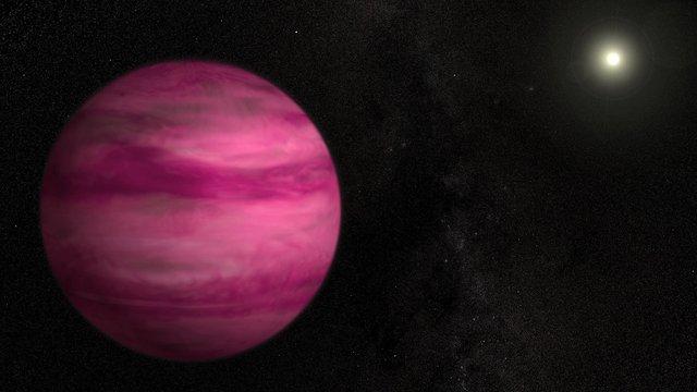 NASA опублікувало фото гігантської планети незвичайного кольору - фото 420208