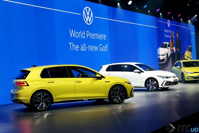 VW Golf  - фото 420403