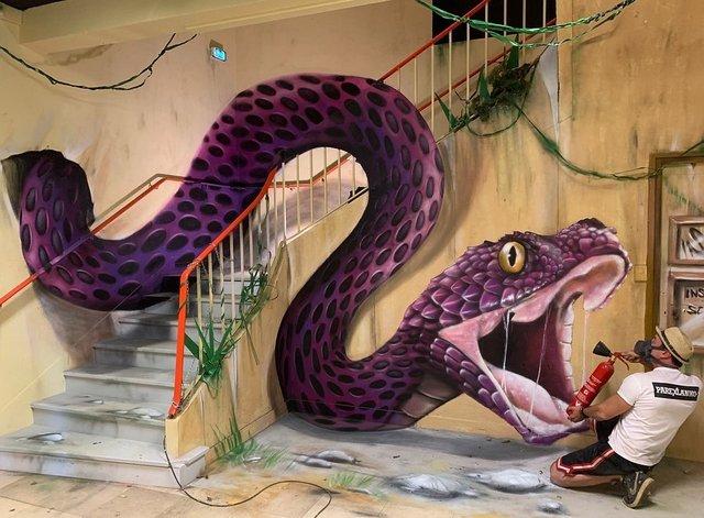 Художник довів, що вуличне мистецтво може бути по-справжньому яскравим: вражаючі фото - фото 420577