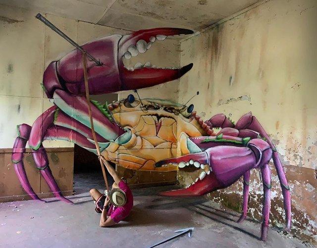 Художник довів, що вуличне мистецтво може бути по-справжньому яскравим: вражаючі фото - фото 420579