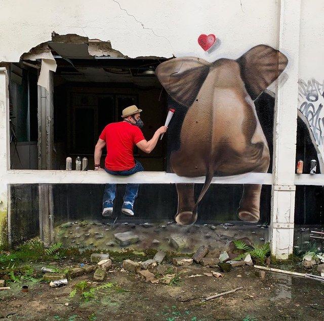 Художник довів, що вуличне мистецтво може бути по-справжньому яскравим: вражаючі фото - фото 420580