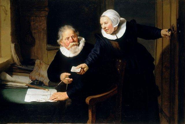 Суднобудівник і його дружина - фото 421659